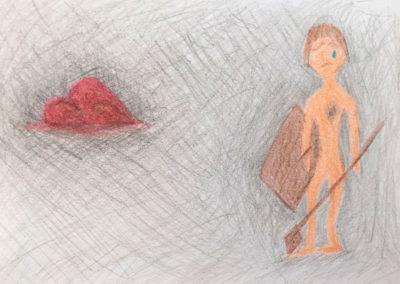 amo coaching Zeichnung Mensch Herz
